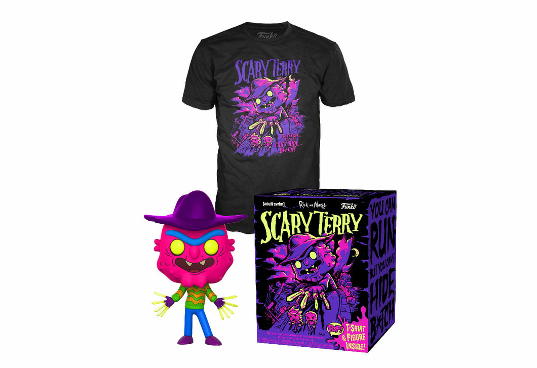 Scary Terry Pop and Tee bundle