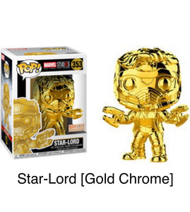 Star-Lord [Gold Chrome]