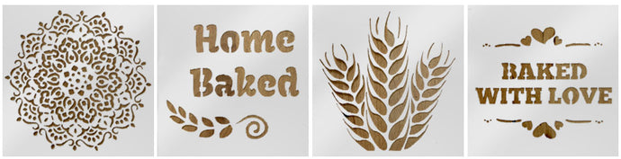 Bread Stenciling Tips