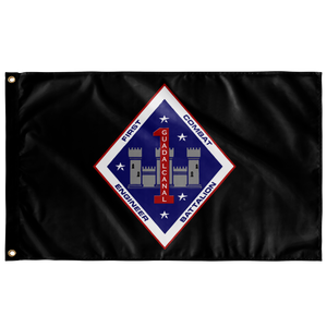 1st Combat Engineer Battalion Flag