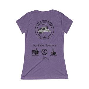 Women's Memorial Race Triblend Tee