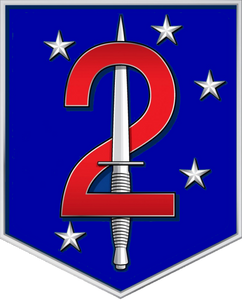 2nd Marine Raider Battalion Sticker