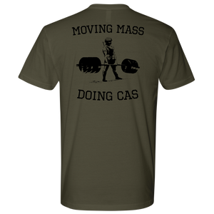 Moving Mass Doing CAS Tee