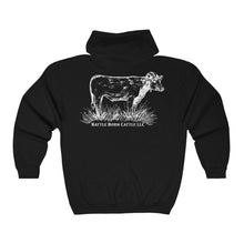 Battle Born Cattle Zip Hoodie
