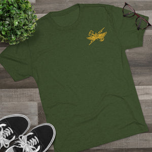 6th ANGLICO Gold Wings Tri-Blend Tee