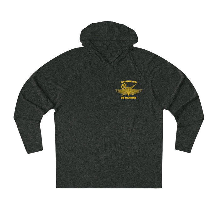 3D ANGLICO Jack Lightweight Tri-Blend Hoodie