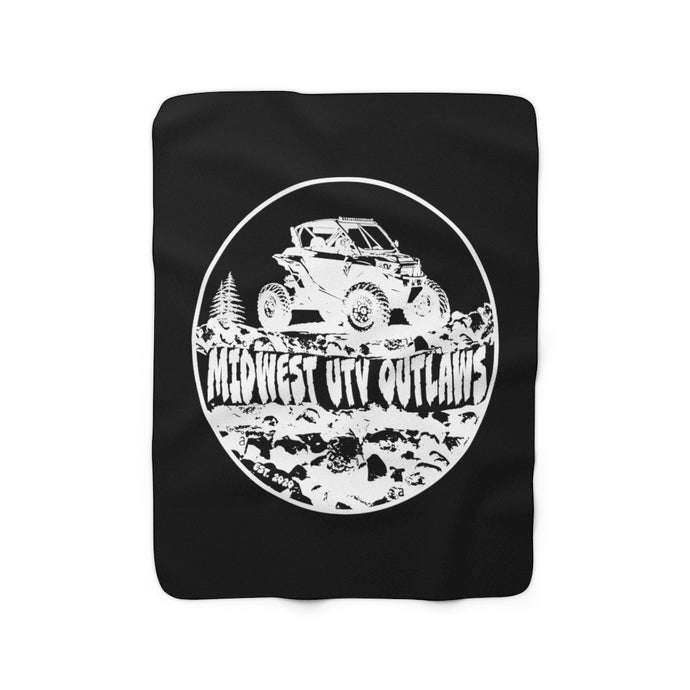 Midwest UTV Outlaws Custom Fleece Blanket