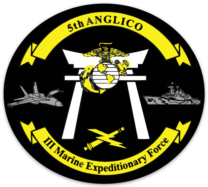 5th ANGLICO Sticker