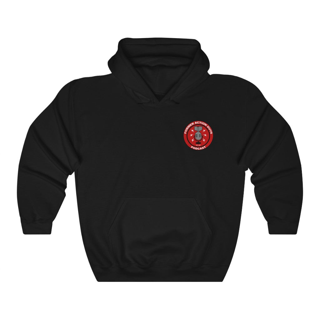 Former Action Guys Podcast Hoodie