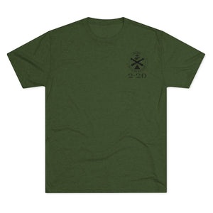 MAOBC 2-20 Tri-Blend Crew Tee