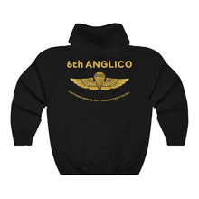 6th ANGLICO Gold Wings Hoodie