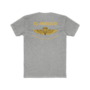 3D ANGLICO Gold Wings Tee