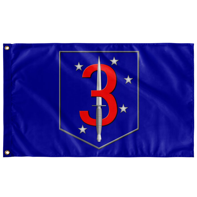 3rd Raider Battalion Battle Flag