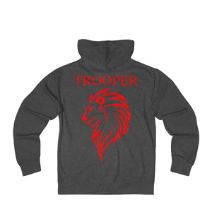 New Jersey State Trooper French Terry Zip Hoodie