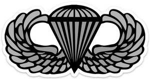 Parachutist Badge Sticker