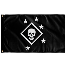 B&W Marine Raider Battle Flag