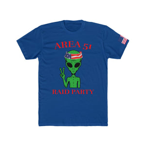 Official Area 51 Raid Party Tee