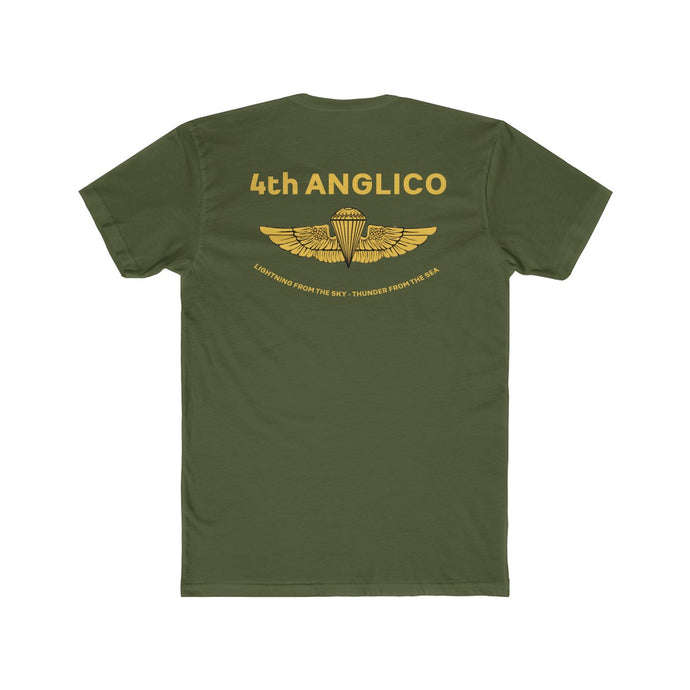 4th ANGLICO Gold Wings Tee