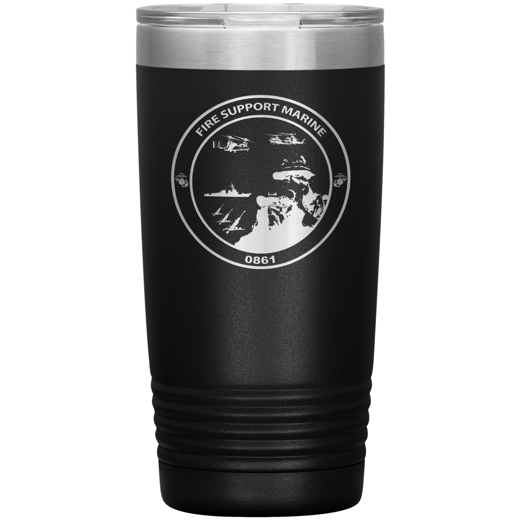 Fire Support Marine 20oz Tumbler