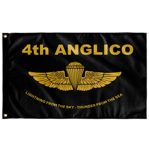 4th ANGLICO Gold Wing Flag