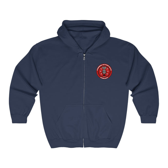 Former Action Guys Podcast Zip Hoodie