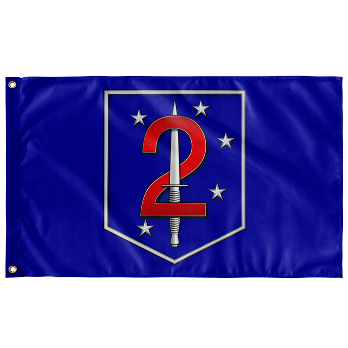 2nd Raider Battalion Flag
