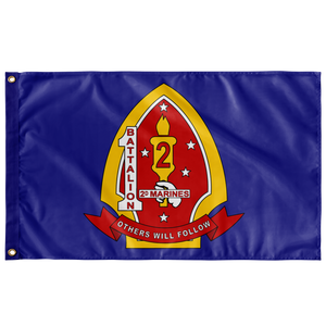 1st Battalion 2nd Marine Regiment Flag