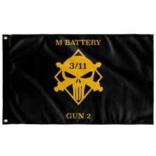 M Battery 3/11 Gun 2 Flag