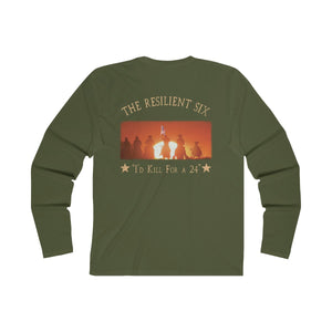 Resilient Six Long Sleeve Tee (Yellow)