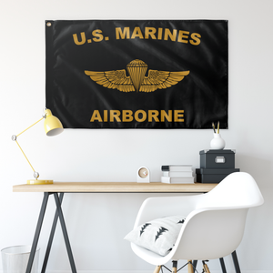 U.S. Marines Gold Wing Flag