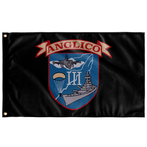 3D ANGLICO Crest Flag