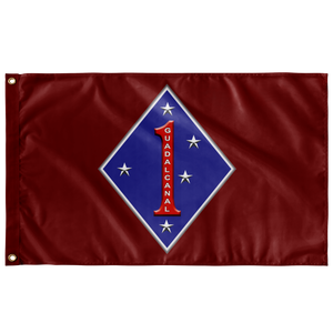 1st Marine Division Battle Flag