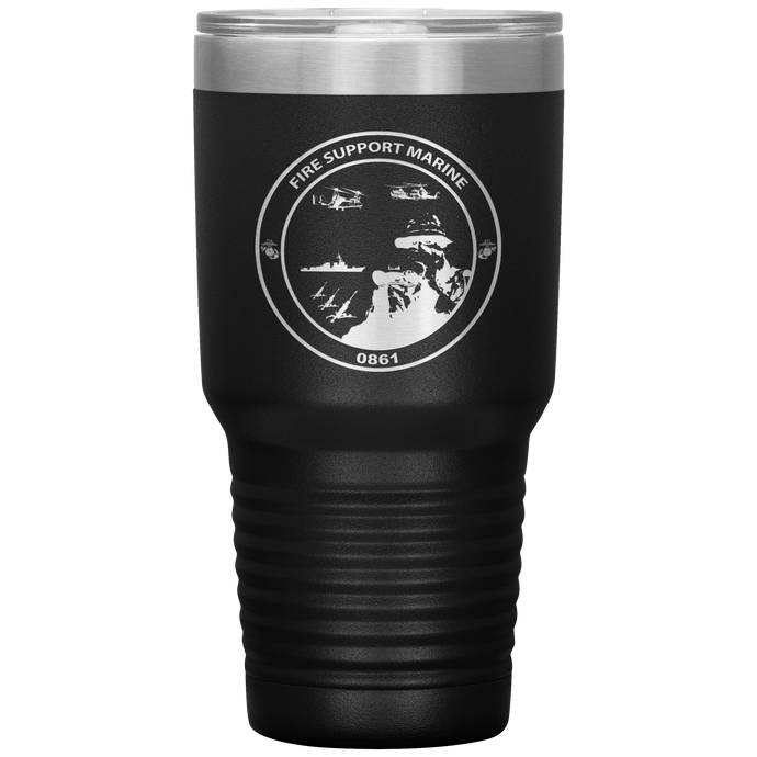 Fire Support Marine 30oz Tumbler