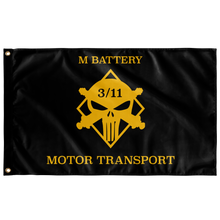 M Battery 3/11 Motor Transport Flag