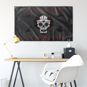 2nd Mar Div Sugar Skull Flag