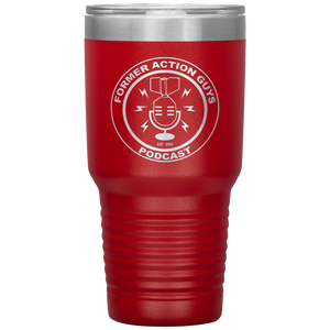 Former Action Guys Podcast 30oz. Tumbler