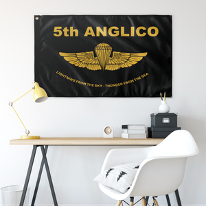 5th ANGLICO Gold Wings Flag