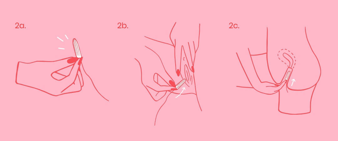 How to insert a tampon - a step by step guide | Moxie