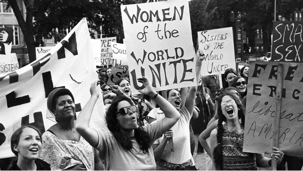 Women's liberation movement in Washington, DC, August 26, 1970. Don Carl Steffen/Gamma-Rapho/Getty Images