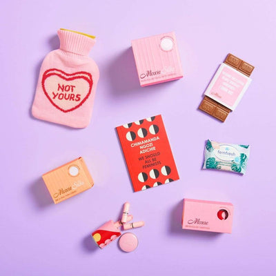 MoxieProducts Boxes 'Welcome (back) to Periods!' Box