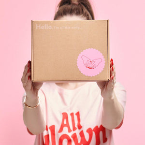 MoxieProducts Boxes 'Welcome to Periods!' Essentials Box