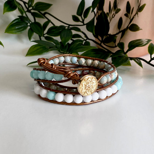 B0560  Bracelets multi rangs