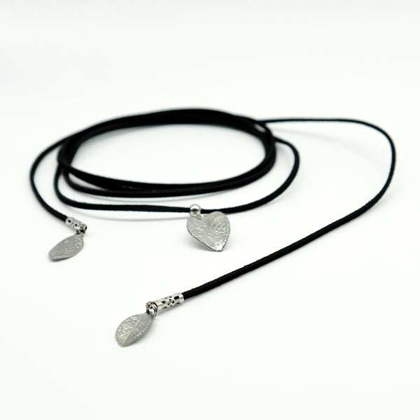 Collier long choker