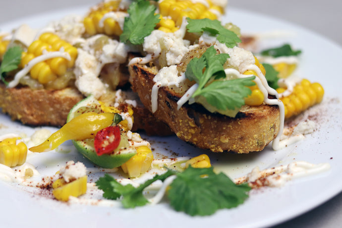 Recipe: Elotes Bruschetta by Julian from @Pizzaislovely