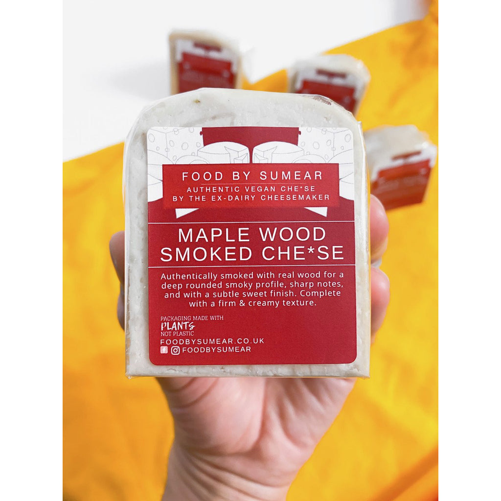Maple Wood Smoked Cheese