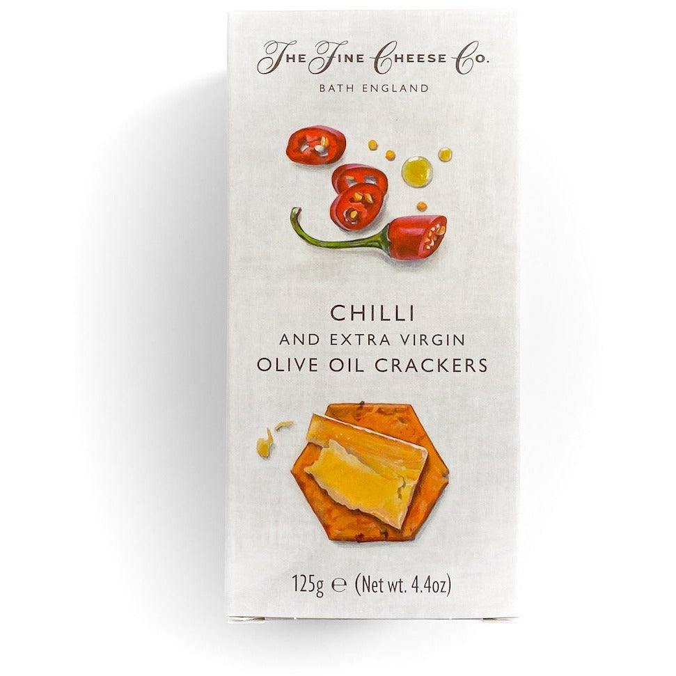 Chilli and Extra Virgin Olive Oil Crackers