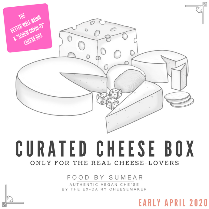 Curated Vegan Cheese Box #005 April 2020 - Easter/Bank Holiday Cheese