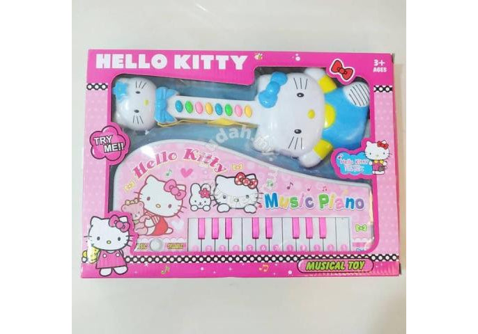Hello Kitty Music Toy – بيانو و جيتار كيتي