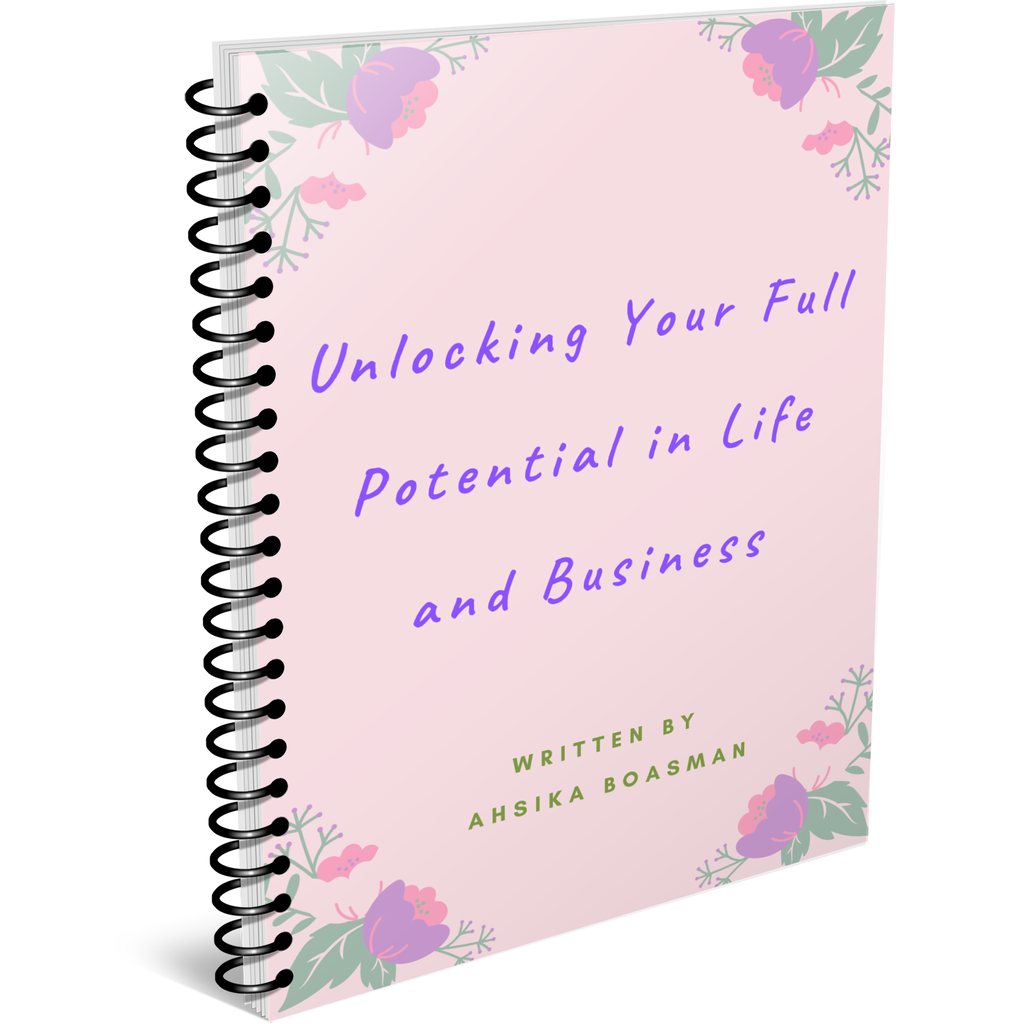 """Unlocking Your Full Potential in Life and Business"" eBook - Curls à la Mode"