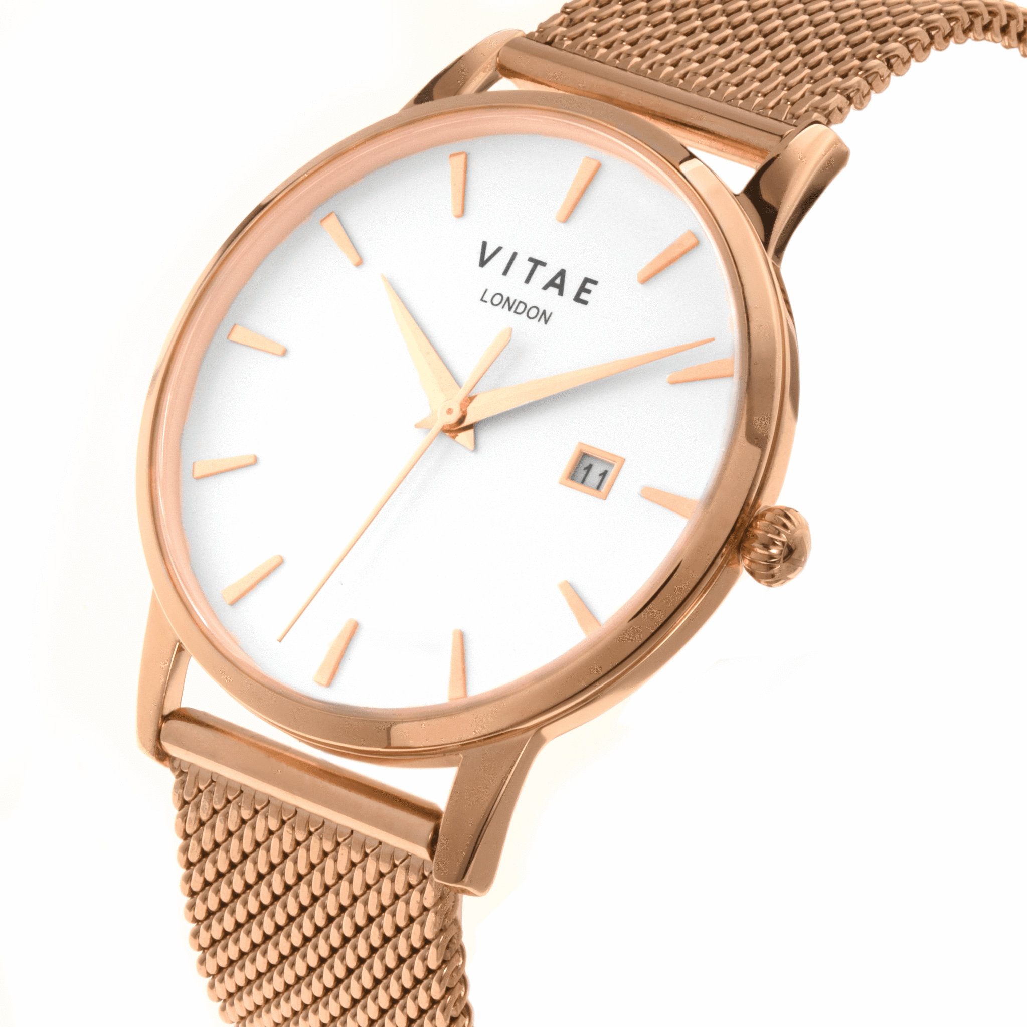 Rose Gold - 40mm - Walmer